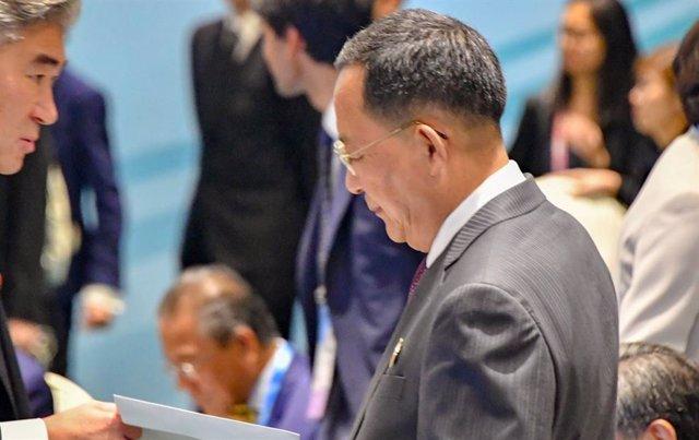 AMP.- Corea.- Corea del Norte habría destituido a cinco altos cargos, entre ello