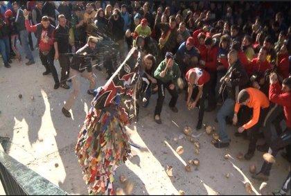 Todo preparado en Piornal para celebrar este domingo y lunes su 'Jarramplas', que prevé atraer miles de visitantes