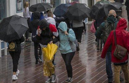 La borrasca Gloria dejará este domingo fuertes vientos y lluvias en Baleares