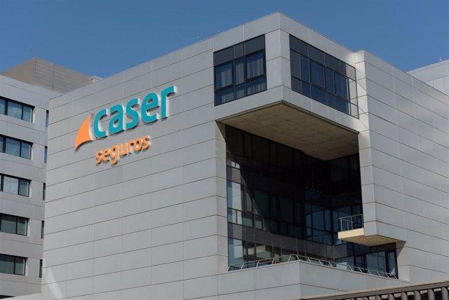 Sede de la compañía se seguros Caser en Madrid.