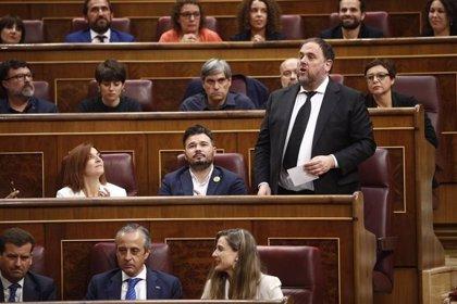 Junqueras pide que se suspenda la decisión del Parlamento Europeo de dejar vacante su escaño