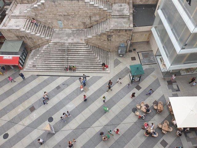 Personas, gente en Santander