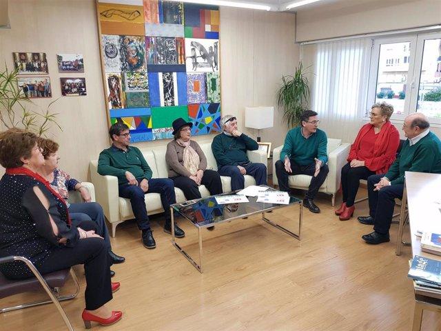 El secretario general del PSOE de Almería y parlamentario andaluz, José Luis Sánchez Teruel, este domingo