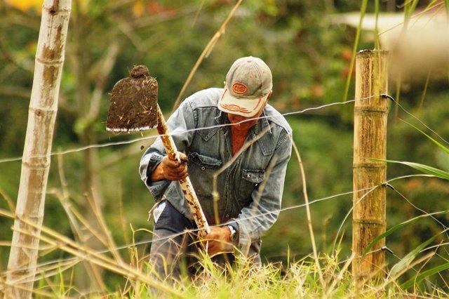 Agricultor en Colombia