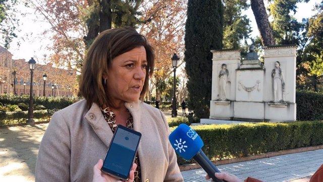 La diputada de Ciudadanos (Cs) por Sevilla en el Parlamento de Andalucía y senadora andaluza Mar Hormigo