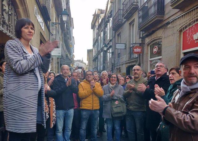 Acto de presentación del BNG de Ana Pontón como candidata a la presidencia de la Xunta