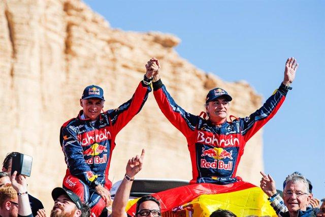 """Rally/Dakar.- Sainz: """"Me he ganado el derecho a decidir mi futuro"""""""