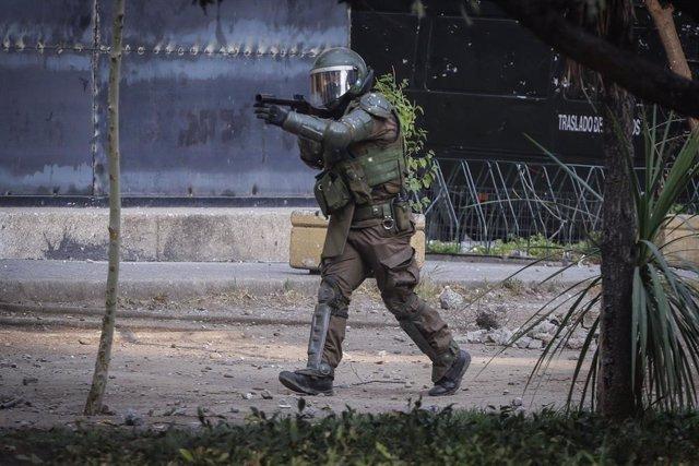Chile.- Más de 22.000 personas han sido detenidas desde el inicio de las protest