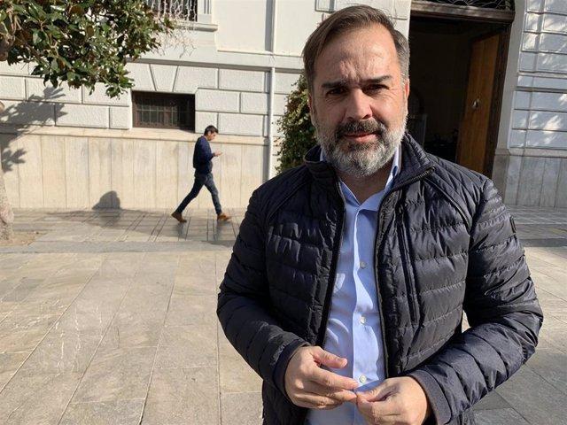 Edil del PSOE Jacobo Calvo
