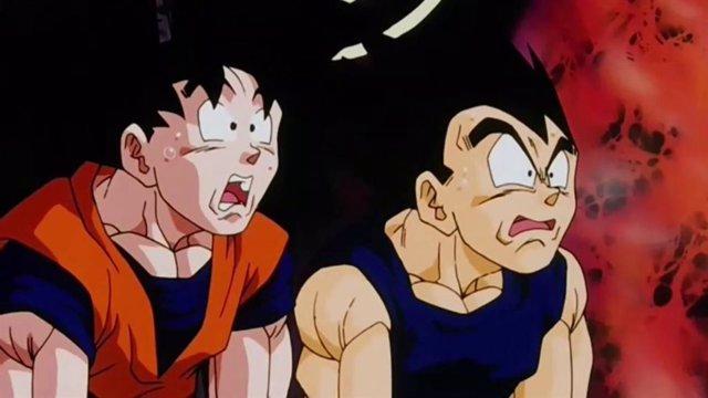Goku y Vegeta en Dragon Ball Z