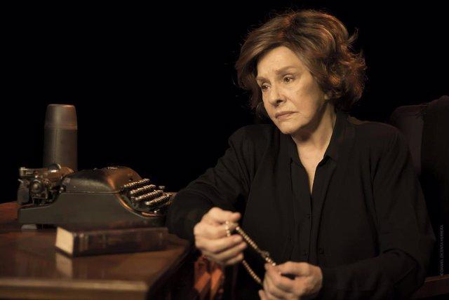 """Lola Herrera representa del 16 al 19 de enero en el teatro Campos Elíseos de Bilbao """"Cinco horas con Mario"""""""