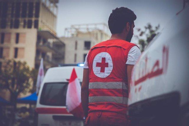 Sanitario de la Cruz Roja Libanesa