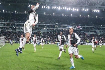 Un doblete de Cristiano destaca a la Juventus en el liderato