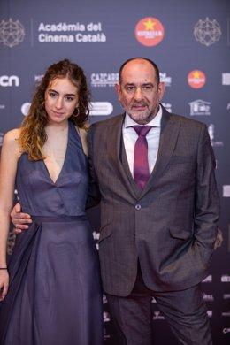 L'actor Karra Elejalde en els XII Premis Gaudí de l'Acadèmia del Cinema Català