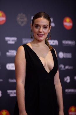 L'actriu María Rodríguez Soto en els XII Premis Gaudí de l'Acadèmia del Cinema Català