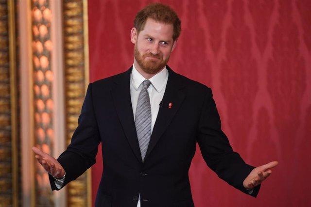 El príncipe Enrique, duque de Sussex.