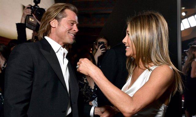 Jennifer Aniston y Brad Pitt en los  Screen ActorsGuild Awards