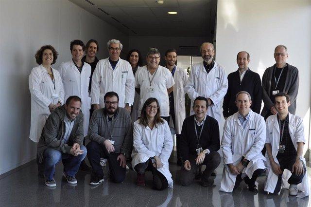 Investigadores del CIBER de Enfermedades Cardiovasculares (CIBERCV) y el Hospital de la Santa Creu i Sant Pau