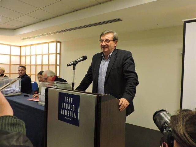 Fernando Martínez López, secretario de Estado de Memoria Histórica y secretario general de Agrupación Municipal del PSOE en la capital almeriense