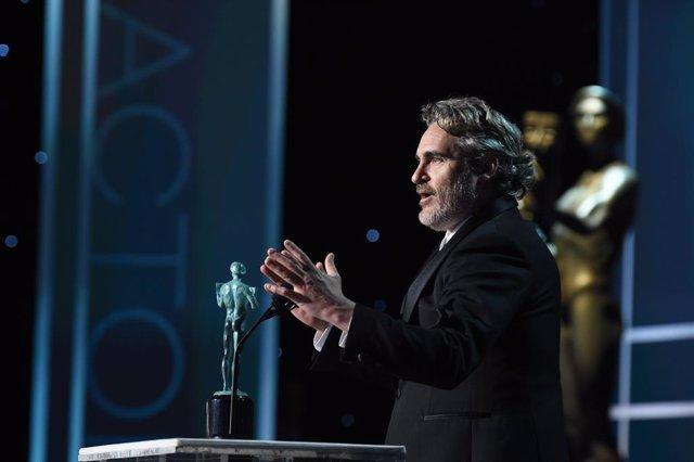 Joaquin Phoenix durante los SAG Awards