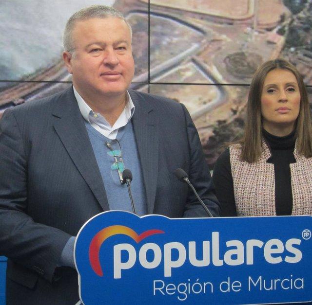El senador del PP por Murcia, Francisco Bernabé