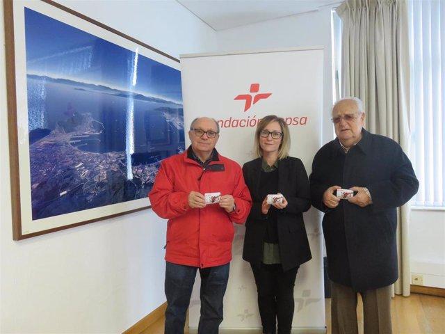 Fundación Cepsa en San Roque entrega tarjetas para combustible al Banco de Alimentos del Campo de Gibraltar