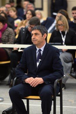 Josep Lluís Trapero a l'Audiència Nacional.