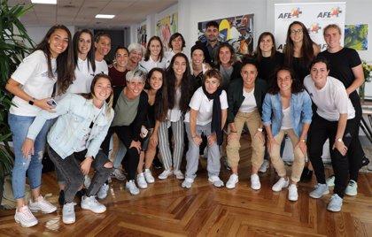 Aganzo y las jugadoras de la Primera Iberdrola valoran este lunes la situación del Convenio Colectivo