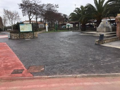 Concluyen las obras de mejora de pavimentación en Almaraz, realizadas en el Plan Activa 2019 de Diputación de Cáceres