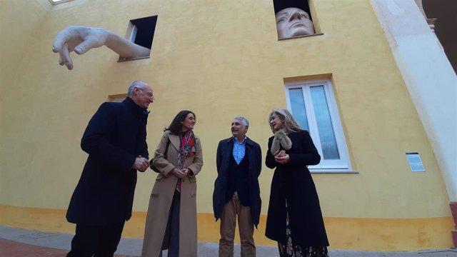 Presentación de la ampliación del Centro Andaluz de Arte Contemporáneo (CAAC), en Sevilla, con la consejera de Cultura y Patrimonio Histórico, Patricia del Pozo.