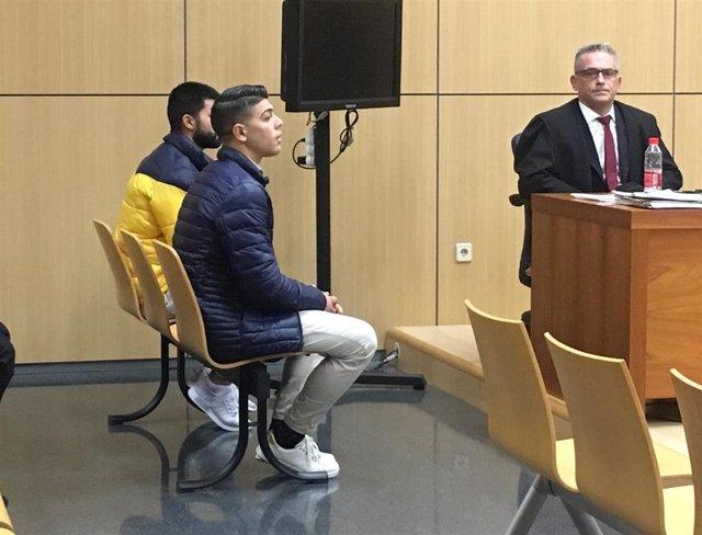 Los dos jóvenes acusados de matar a un hombre en València