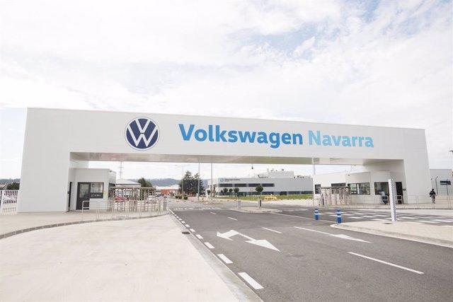 Planta de Volkswagen Navarra en Landaben