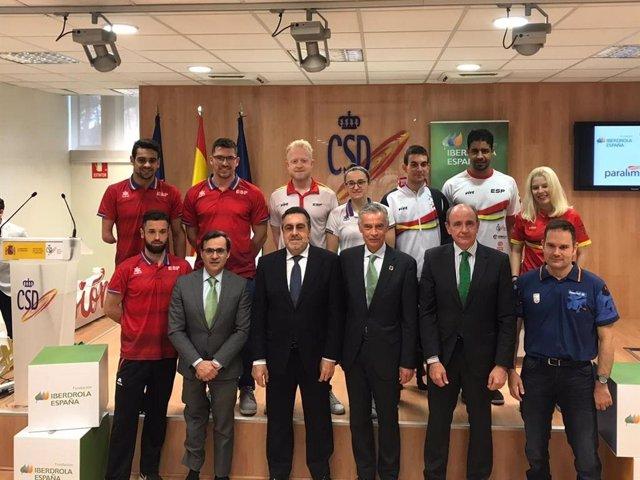 Los deportistas becados por la Fundación Iberdrola España