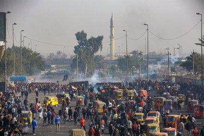 Irak.- Miles de personas se manifiestan nuevamente en Bagdad y otros puntos de Irak