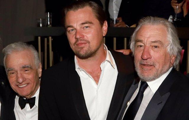 Martin Scorsese, Leonardo DiCaprio y Robert De Niro