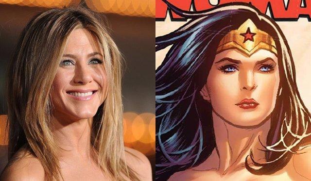 Jennifer Aniston quiere interpretar a Wonder Woman