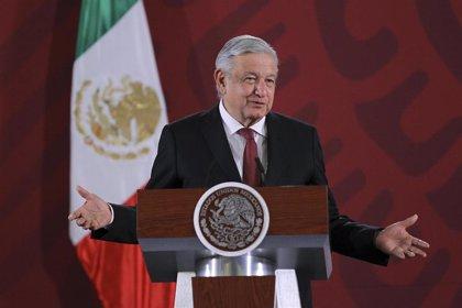 """Los migrantes de la caravana centroamericana piden a López Obrador que les abra las """"puertas"""" de México"""