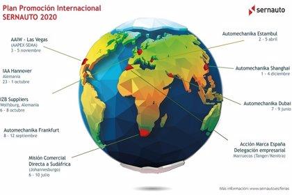 Sernauto lanza un plan para la internacionalización de proveedores españoles de automoción