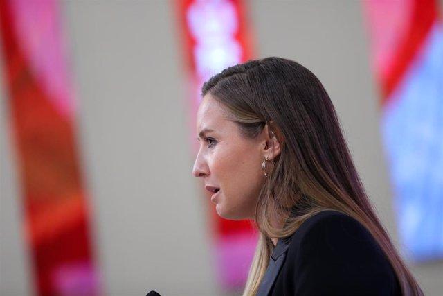 La portavoz de la Gestora de Ciudadanos, Melisa Rodríguez.