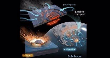 El cráter del asteroide que acabó con los dinosaurios se repobló rápido