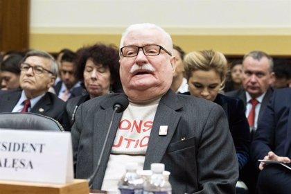 Polonia.- Walesa afea al Gobierno polaco que compare la reforma judicial con la lucha contra el comunismo