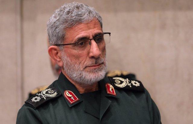 El nuevo jefe de la Fuerza Quds de la Guardia Revolucionaria, Esmail Qaani