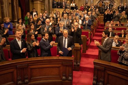 El Parlament celebra este martes un pleno con el acta de Torra avalada por la Cámara
