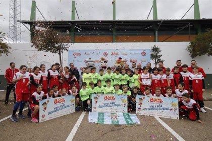 La Copa Covap divulga el beneficio del deporte para prevenir la aparición de dolores de cabeza en niños
