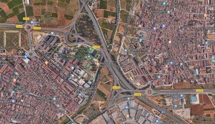 Heridos dos hombres en un accidente entre dos coches en Picassent (Valencia)