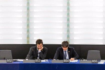 Los Verdes/ALE discutirán el miércoles si acepta que Puigdemont y Comín entren en su grupo de la Eurocámara