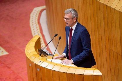 El vicepresidente de la Xunta comparecerá en la Cámara para explicar las demandas de Galicia al Gobierno de Sánchez