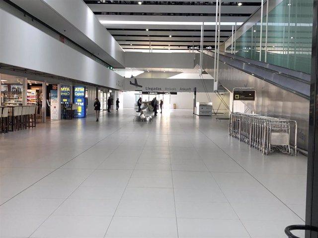 Instalaciones del Aeropuerto Internacional de la Región de Murcia en Corvera