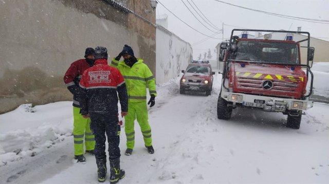 Servicios de emergencias desplegados por el temporal
