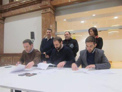 El equipo de gobierno de Castelló firma un acuerdo que completa el Acord de Fadrell y cierra la crisis